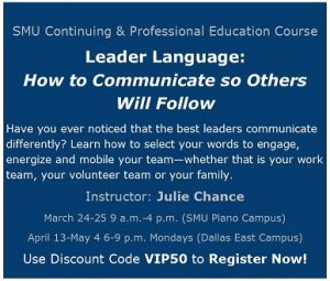 leader language
