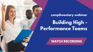Building High - Performance Teams