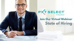 state of hiring: a pxt select virtual webinar august 5 1
